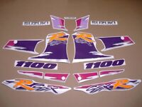 GSXR 1100 1994 replacement decals stickers restoration graphics set mark pattern