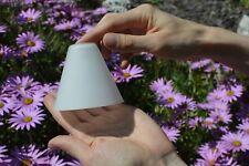 Matt White Glass Replacement Lamp / Light Shade