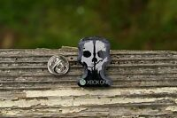 XBOX One Video Game Split Skull Metal Black Lapel Pin Pinback