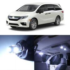 15 x White LED Lights Interior Package For Honda Odyssey 2018 - 2019 + TOOL