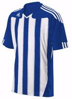 adidas Mens Climacool Stricon SS Short Sleeve Stripe Football Jersey Top T Shirt