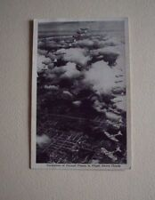WW II OFFICIAL U. S. NAVY PHOTO OF THE FORMATION OF PURSUIT PLANES...RPPC 1944.