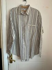 Urban Outfitters BDG Ivory Stripe Shirt Size Small Brand New With Tags