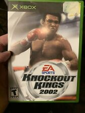 Knockout Kings 2002 - Original Xbox Game - Complete & Tested