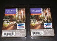 Better Homes & Gardens Scented Wax Cubes GOLDEN SUNLIT WOODS / 2 Packs