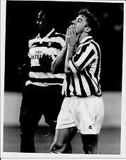 1995 ALESSANDRO DEL PIERO foto originale precampi. Juventus-Sporting Lisbona 0-1