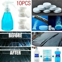 10pcs Car Solid Wiper Fine Seminoma Window Cleaning Car Windshield Glass Cleaner