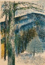 Guy Bardone (1927-2015) Lyon peintre lithographie originale