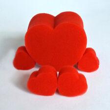 EG_ 5Pcs Close-Up Magic Street Classical Comedy Trick Soft Red Sponge Heart _GG
