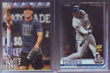 2019 TOPPS UPDATE FATHER'S DAY BLUE GLEYBER TORRES NEW YORK YANKEES /50 #US148