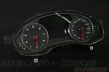 Audi A6 4G A7 FSI Kombiinstrument Benziner Tacho Cluster MFA 300Km/h 4G8920930SX