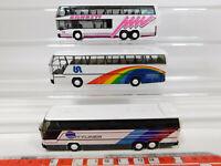 CL38-0,5# 3x Rietze/RM H0/1:87 Bus Neoplan: Skyliner Ernesti + Cityliner, s.g.