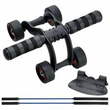 Podazz Ab Roller Wheel Set Fitness Equipment - 4 Wheels Innovative Ergonomic