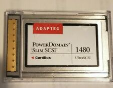 Adaptec 1480 UltraSCSI Power Domain Slim SCSI CardBus only PCMCIA to SCSI