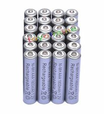 24x AAA 1800mAh 1.2V Ni-MH Rechargeable battery 3A Grey Cell for MP3 RC Toys