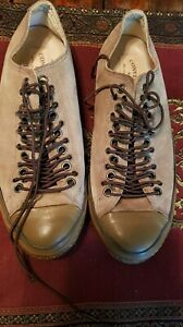 Men's Converse All Star John Varvatos. Low. Brown Suede. Size 10 1/2. Used,