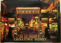 Australia Chinatown Sydney Northern Archway - posted 1982