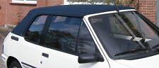 PEUGEOT 205 CABRIO CAPOTE CABRIOLET PVC NOIR NEUVE