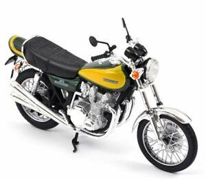 KAWASAKI Z900 - 1973 - green / yellow - Norev 1:18
