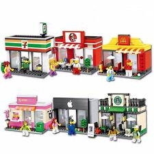 Lego Compatible Retail Stores: Apple store Or Starbucks Or McDonalds | 7-Eleven