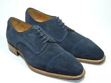 Prime Shoes Herrenschuhe Bergamo U144 Suede blue Rahmengenäht Echtleder Gr.8