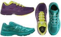 Salomon Women Sonic Pro Neutral Runner Quick Lace Running Shoes Sneakers NEW