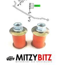 MITSUBISHI l200 k74 96-06 Sospensione Anteriore Anti Roll Bar Cespugli di collegamento centro