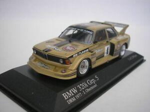BMW 320i #4 Group 5 Drm 1977 J.Obermoser 1/43 minichamps 400772305 New