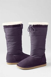 LANDS' END Toddler Girl BOOTS Size: 9 US (UK 8) (EU 25) New SHIP FREE With Tie