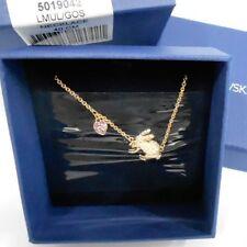 Swarovski Vanella Rabbit Necklace, Heart Gold-Plated Crystal MIB - 5019042