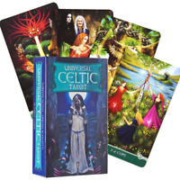 78 Universal Celtic Tarot card games Antique Party Games Tarot Cards Deck Oracle