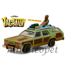 GREENLIGHT 44750A 1979 FAMILY WAGON QUEEN 1/64 NATIONAL LAMPOONS VACATION w AUNT
