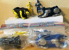 Mighty Morphin Power Rangers Yellow & Blue Rangers Bear & Wolf Ninjazords 1995