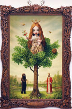 Mark Ryden Tree Of Life Lithograph Card Art lowbrow snow yak