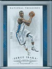 2014-15 Panini National Treasures Serge Ibaka Base /99
