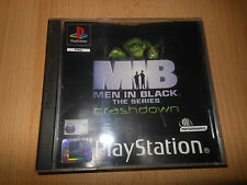 Men In Black Crashdown - playstation 1 PS1 Buen Estado Coleccionistas Versión