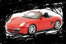 1/18 Welly Porsche Boxster S rouge - neuf emballage d'origine