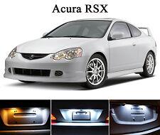 Xenon White License Plate / Tag 168 LED light bulbs for Acura RSX (2 Pcs)
