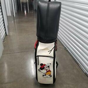 Rare Mickey Mouse Vintage Golf Bag