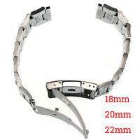 Schlussverkauf Edelstahl Uhrenarmband Straight End Armband Links 18mm/20mm/22mm