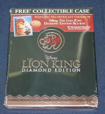 The Lion King (Blu-ray) Steelbook - Best Buy Exclusive empty case