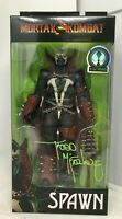 "Spawn McFarlane Toys SIGNED Mortal Kombat Action Figure 7"" Signature Edition"