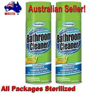 Homebright Powerful Foaming Bathroom Cleaner Non-Abrasive  No CFCs