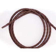 """Bolo Tie Cord - Braided Bolo Cord - Brown - 36"""" x 4mm"""