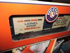 LIONEL O SCALE 2002 NEW YORK TOY FAIR  BOX CAR # 6-29904