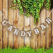 3m Candy Bar Bunting Banner Garland Romantic Wedding Party Hanging Sign Decor