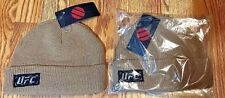 2 - NWT OFFICIAL UFC Waffle Beanie Brown Hat BRAND NEW - FREE SHIPPING