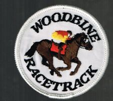 Woodbine Racetrack Patch Horse racing, nice item