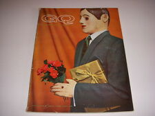 Vintage GENTLEMEN'S QUARTERLY GQ Magazine, September, 1960, PIERRE CARDIN DESIGN