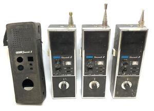 SBE-5-CB Cascade II 6 Channel 5 Watt Transceiver Case Handheld Japan Lot of 3